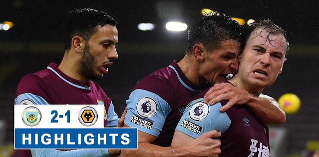 Burnley vs Wolverhampton Wanderers – Highlights