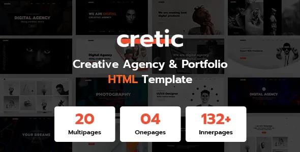 Best Creative Agency Portfolio HTML Template