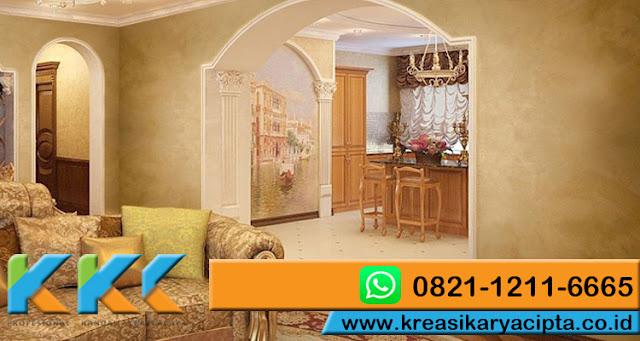 Dinding fresco stucco