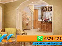 Contoh Cat Motif Fresco Stucco