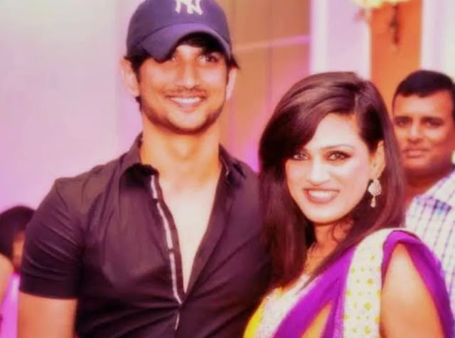 Shweta Singh remembers the brother and shares old photos and videos. She has now shared a video of his wedding reception in which Sushant is looking emotional.