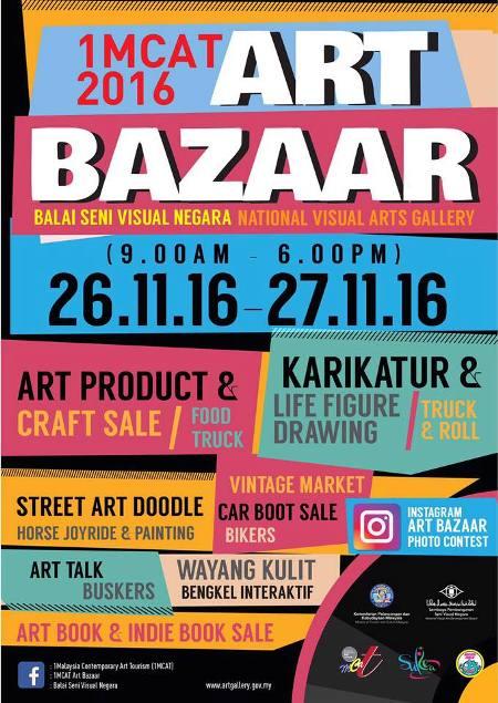 1mcat art bazaar 2016 balai seni visual negara