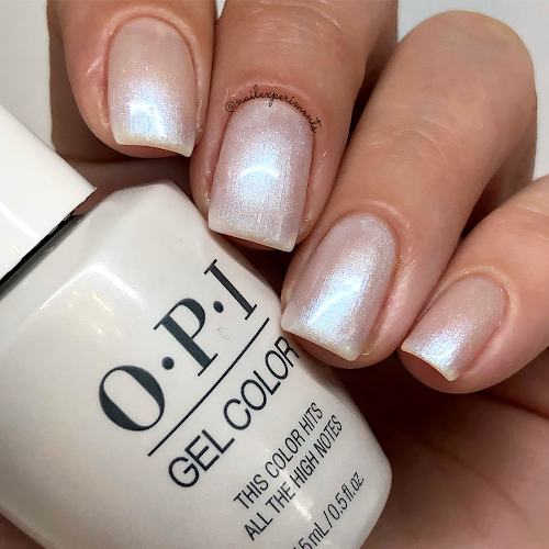 opi this color hits all the high notes gel color muse of milan fall 2020