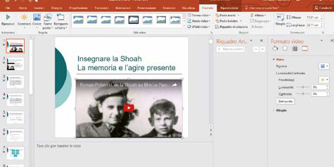 Come modificare il video inserito in presentazioni powerpoint
