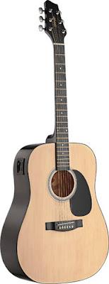 Bán Đàn Guitar Acoustic Stagg SW201NVT (Dáng tròn) giá 2,5 triệu tại sài gòn