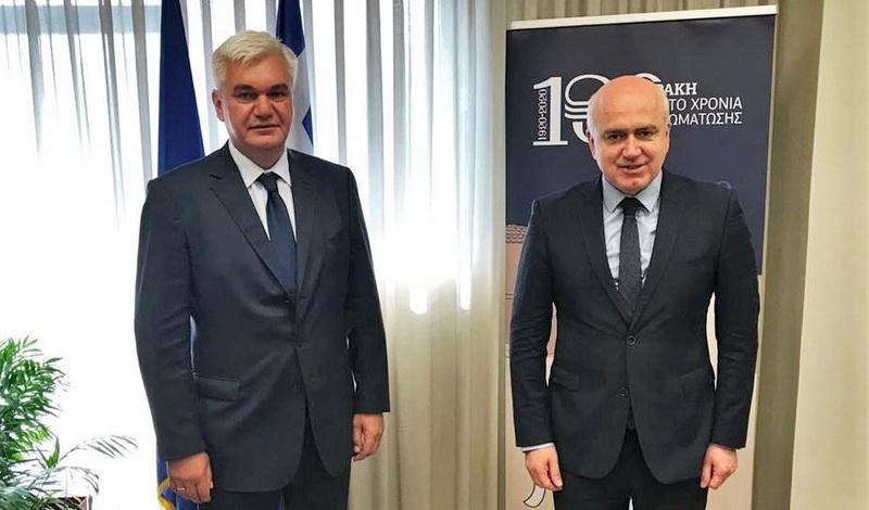Συνάντηση του Περιφερειάρχη ΑΜ-Θ με τον Γενικό Πρόξενο της Ουκρανίας
