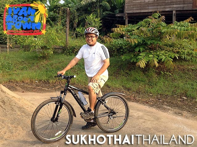 Bicycle Tour, Sukhothai, Thailand
