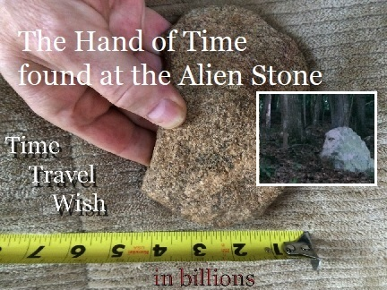 NEW 02.02.2018 The Hand of Time is Found at the Alien Stone