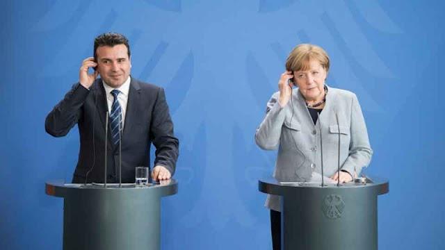 Merkel - Zaev: Gemeinsam gegen Russland und China