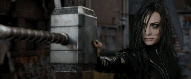 Thor Hammer Get Destroyed In Thor: Ragnarok first official Teaser Trailer.