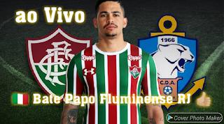 b23519f0d2da7 Fluminense ao vivo    Escalação do Time    No Bate Papo Fluminense RJ