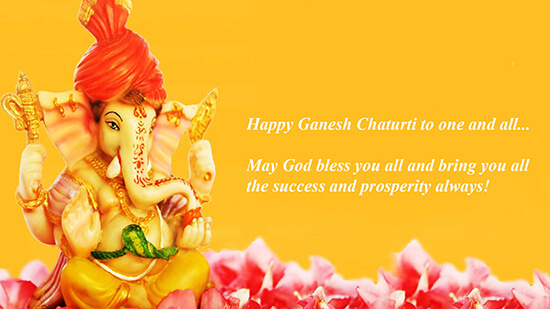 WHY IS GANESH CHATURTHI CELEBRRATED ???