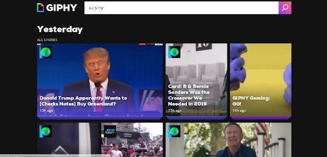 GIPHY - fun websites