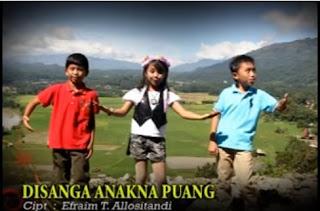 Download Lagu Toraja Disanga Anakna Puang