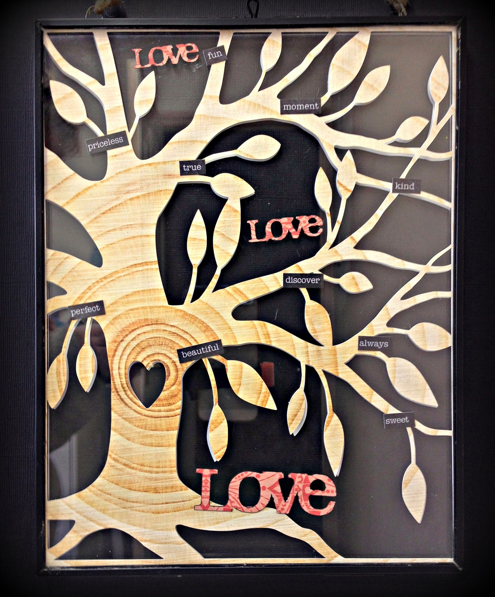 Love Tree Tracee Provis Papermaze March kit