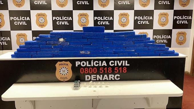 Polícia Civil realiza prisão e apreende mais de 26 quilos de drogas em Gravataí