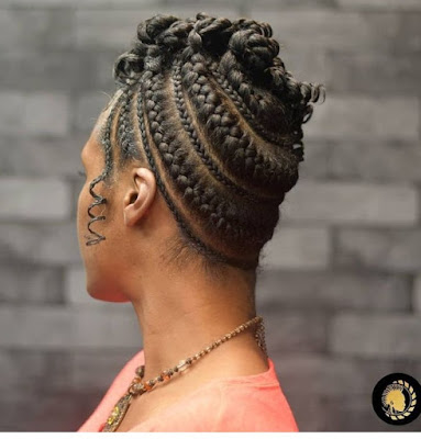 Nigerian Natural Hair Weaving Styles without Attachment