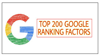 This image is all about Google's 200 top rankings factors in hindi.