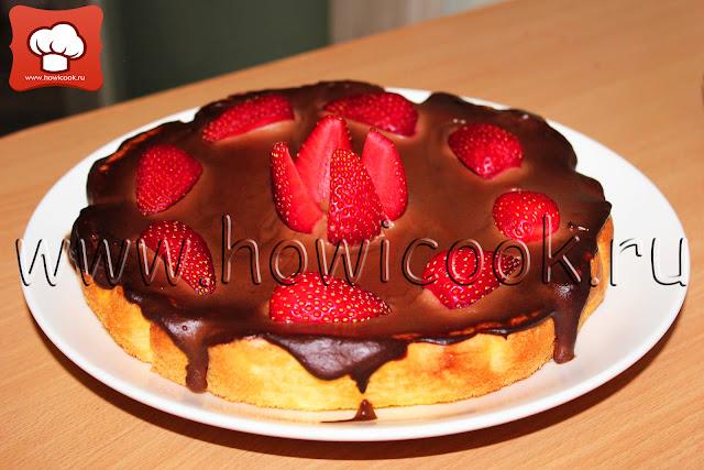 рецепт вкусного бисквита с фото