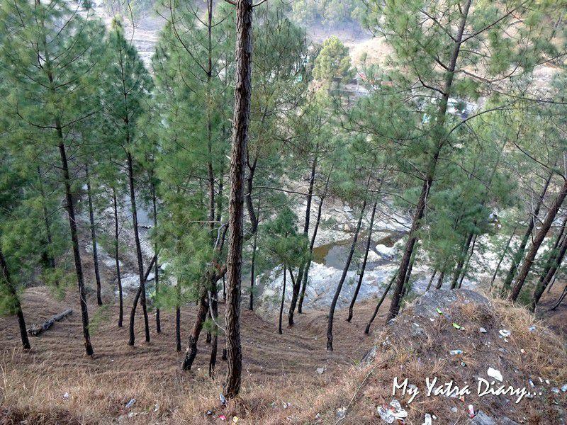 Pre historic Lakhudiyar caves in Almora Uttarakhand