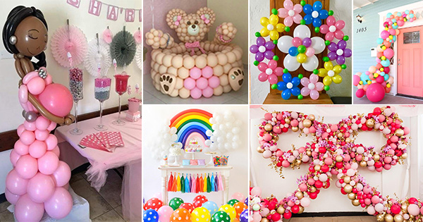 💡 Ideas para Decorar Fiestas con Globos