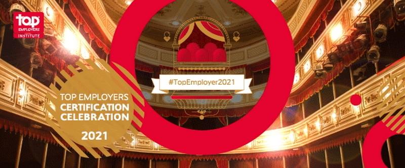 top employer 2021 huawei maroc