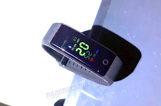 Review ID115 Plus Smart Wrist Band Murah - Nggone Ronan