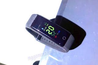 Review ID115 Plus Smart Wrist Band Murah - Nggone Ronan