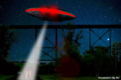 UFO Emits Beam, Couple Experiences Missing Time