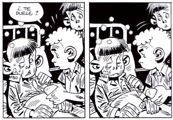 Hombres del mañana de Carlos Giménez. Edita Reservoir Books. Comic huerfanos