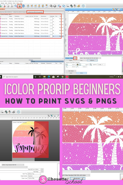 prorip, white toner printer, sublimation, silhouette 101, silhouette america blog