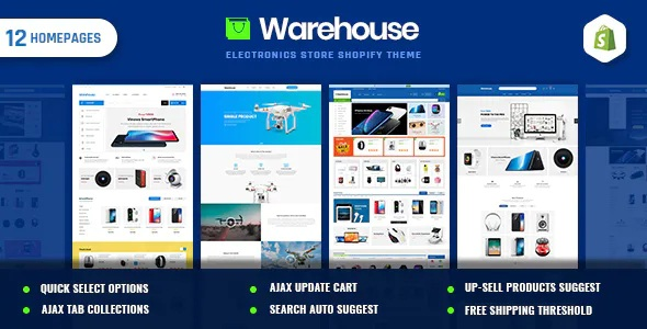 Best Electronics & Multipurpose Shopify Theme
