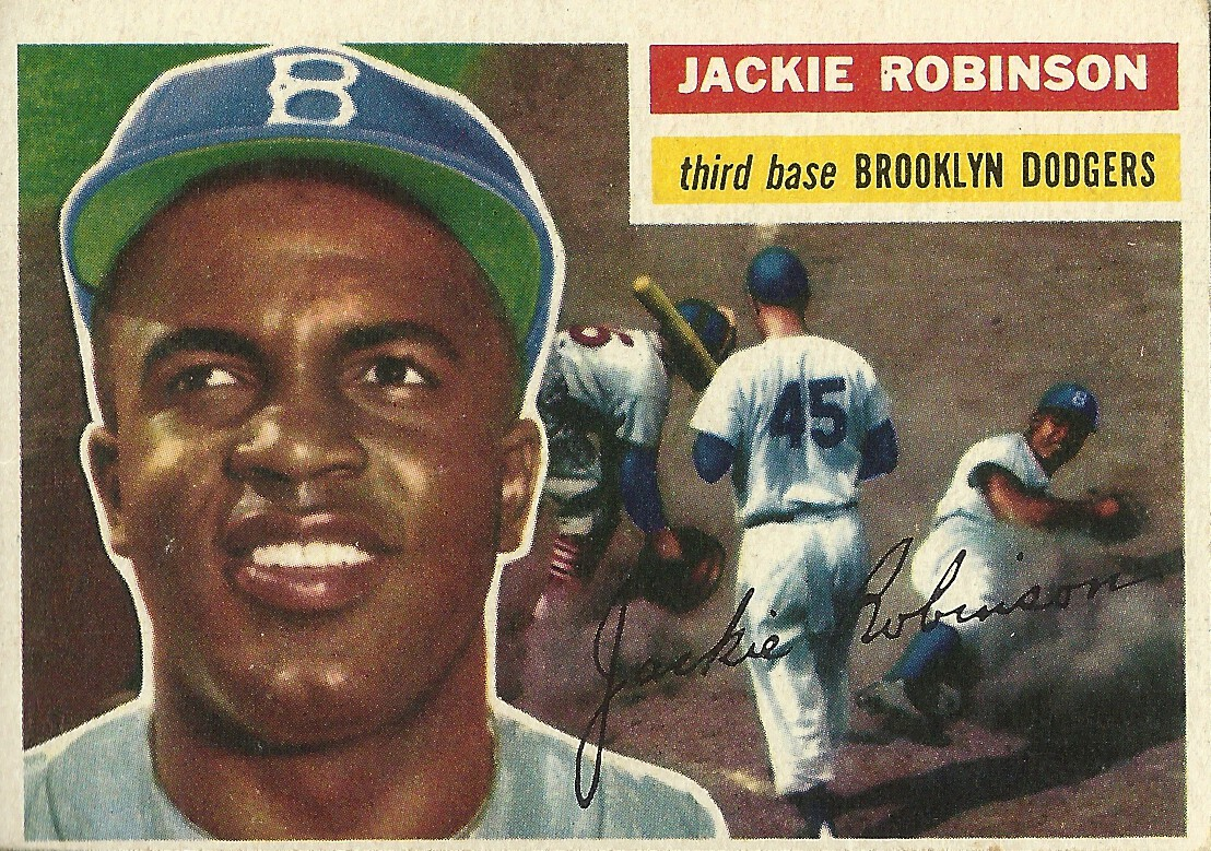 Topps 30 Jackie Robinson