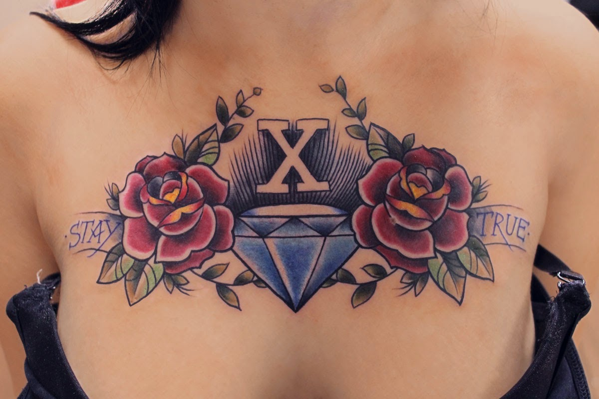 diamant tattoo diamant tattoo gallerie. Black Bedroom Furniture Sets. Home Design Ideas