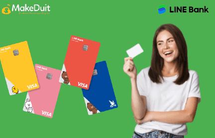 4 Jenis Kartu Debit LINE Bank dan Cara Buatnya
