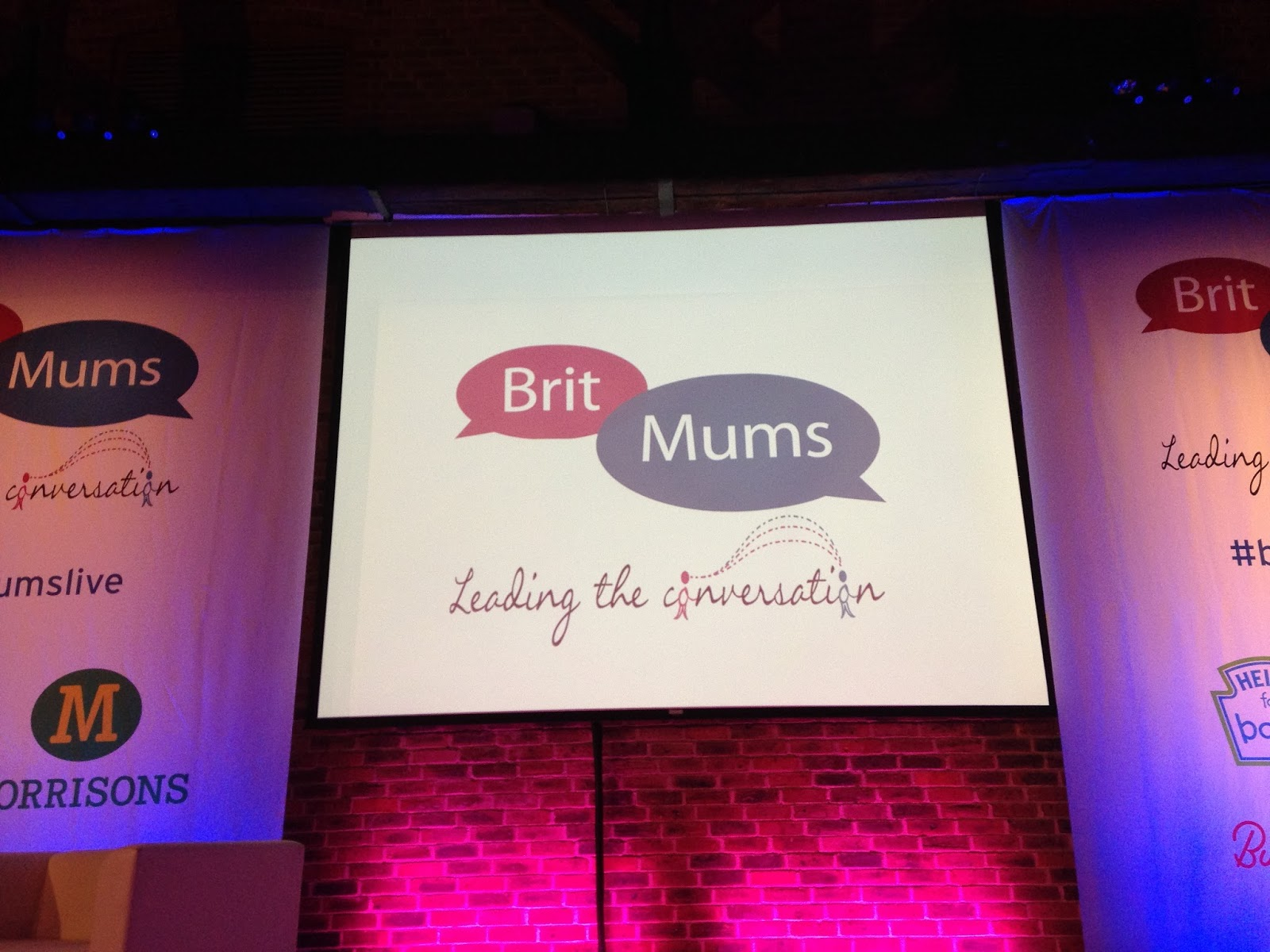 Britmums Live 2014 Main Room