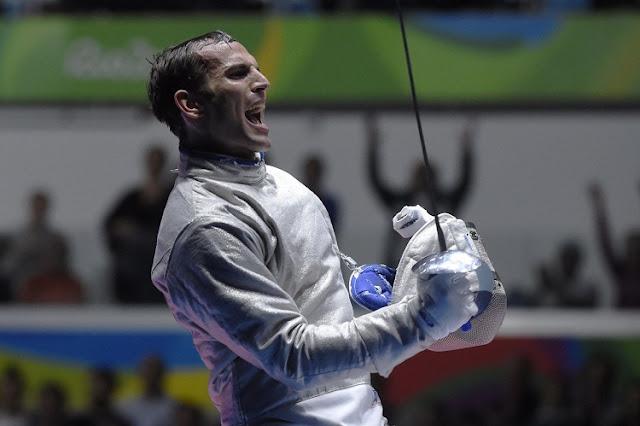 Áron Szilágyi é o atual campeão olímpico no sabre