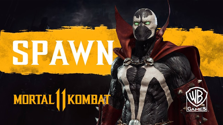 mortal kombat 11 spawn al simmons superhero image comics todd mc farlane nether realm studio pc ps4 xb1
