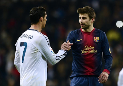 Cristiano Ronaldo shades Gerard Pique after winning UEFA's best player award of the year