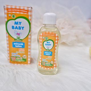 Dengan MY BABY Minyak Telon Plus Longer Protetion : Gak Khawatir Lagi Main Diluar