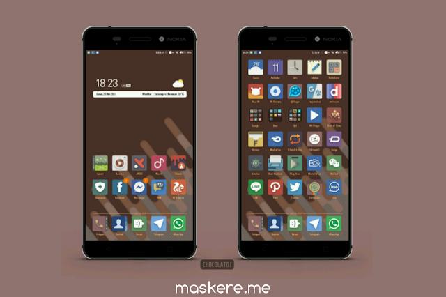 Tema Xiaomi Chocolatos Up MIUI 10