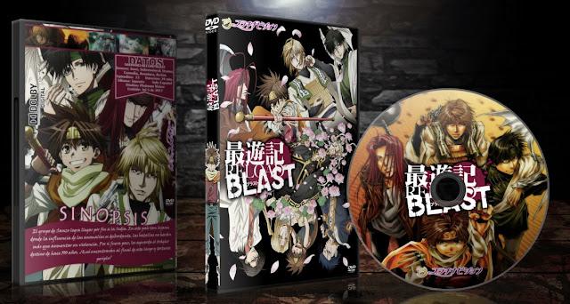 Saiyuki Reload Blast   Cover DVD   MEGA  