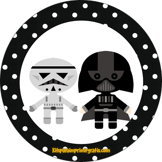 Star Wars Bebés: Mini Kit para Imprimir Gratis. | Oh My Fiesta! Friki