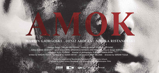 Amok by Vardan Tozija wins award at Otranto film festival