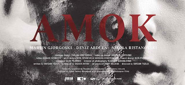 Amok by Vardan Tozija wins award at Otranto film festival