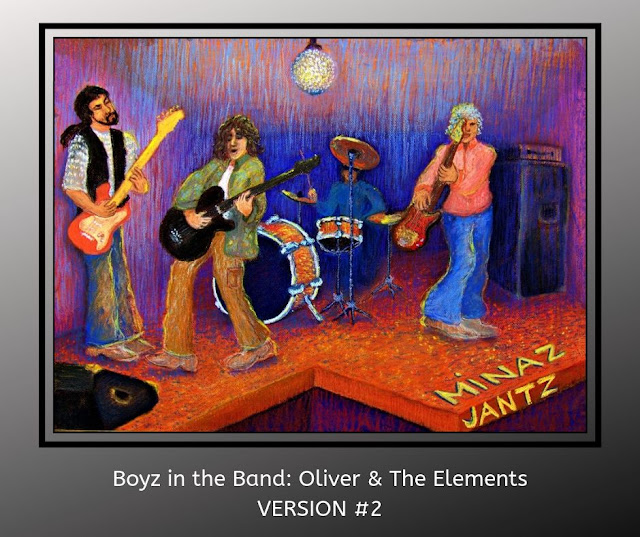 Boyz in the Band: Oliver & The Elements Version #2 by Minaz Jantz