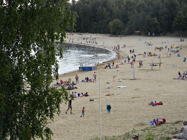 jezioro, wypoczynek, Nysa, Skorochów