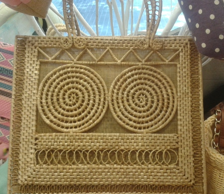 Bolso rectangular de maiz natural