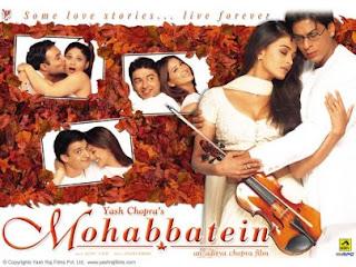 OST Mohabbatein - Aankhein Khuli