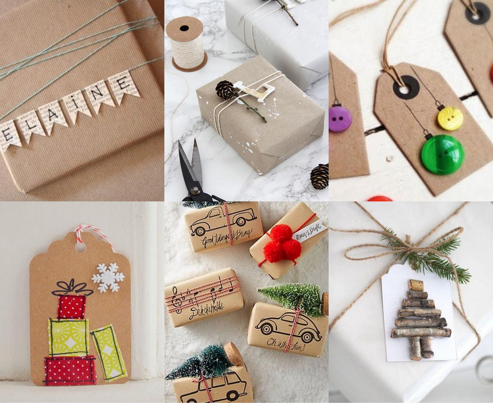 10 nápadov ako vytvoriť originálnu menovku na darček